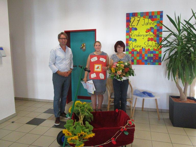 Grossansicht in neuem Fenster: Abschied Gaby, Herr Glatt, Frau Mehr