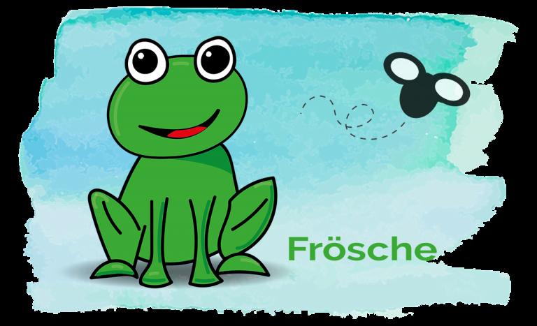 Grossansicht in neuem Fenster: Froschgruppe