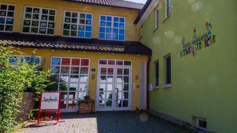 Grossansicht in neuem Fenster: Eingang Kindergarten