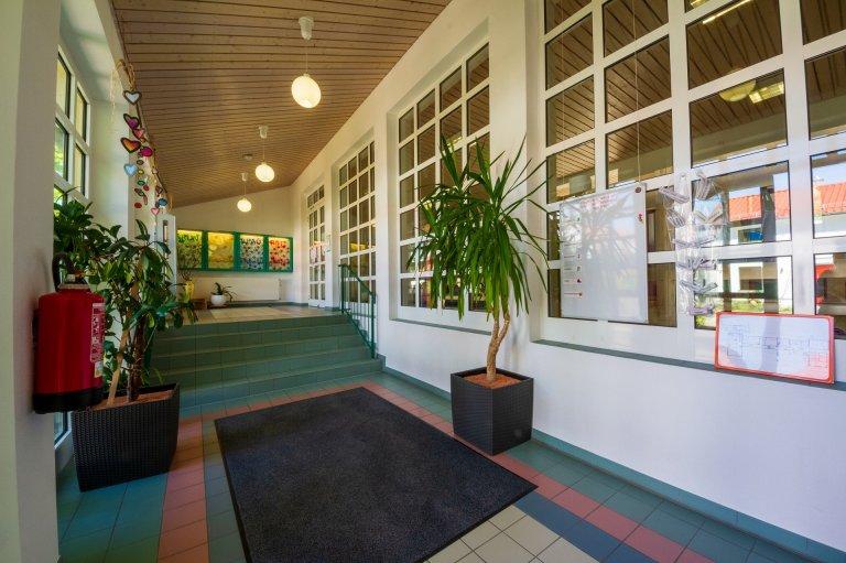 Grossansicht in neuem Fenster: Eingangsbereich Kindergarten