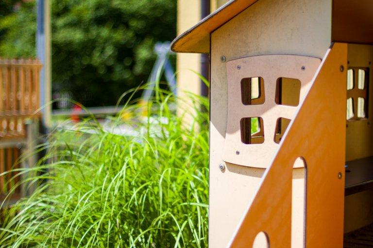 Grossansicht in neuem Fenster: Detailaufnahme Garten Kleine Strolche